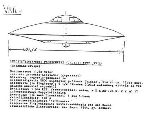 Alman Vril UFO'ları