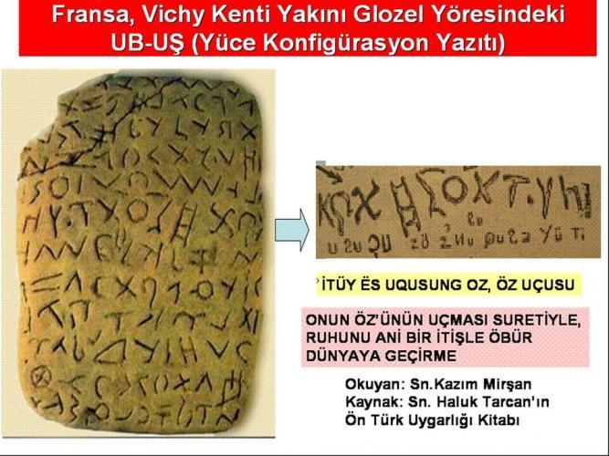 Türklerin ilk yazı dilleri hakkında