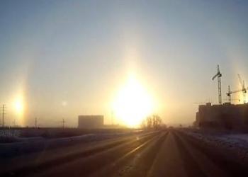 Güneş Halesi: Gökyüzünde 3 Güneş!