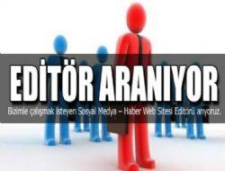 Editör Başvuru