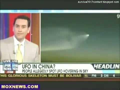 Medyada Yer Alan Gerçek UFO Görüntüleri İnanılmaz