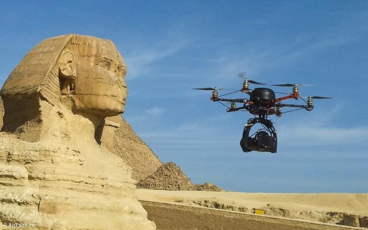 Giza Piramitlerinde 360 Derece Sanal Tur