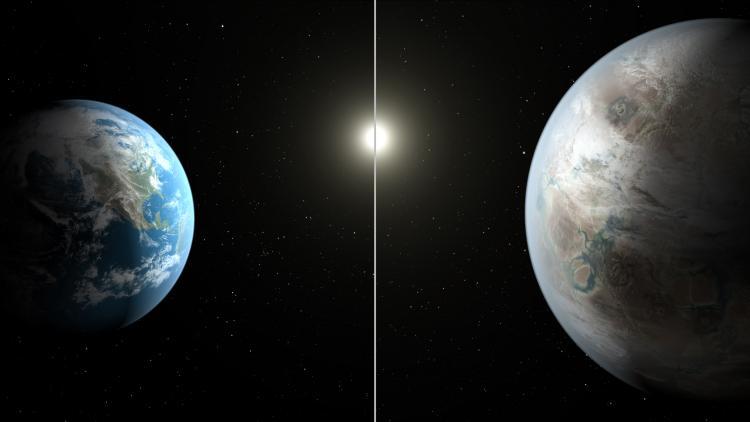 Kepler 452b : Dünya'nın İkinci Versiyonu