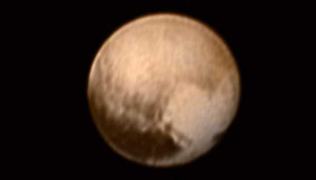 Yalnız Dost Pluto'dan Son Gelen Fotoğraf