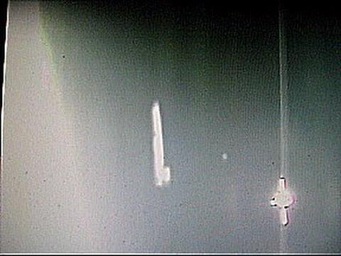 Rusya Uzay İstasyonu Yakınında UFO Görüntülendi