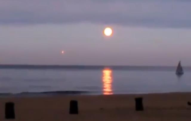 Baltık Denizi Rusya dan UFO Görütüsü