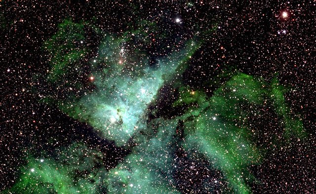 Samanyolu'nun 46 milyar piksellik fotoğrafı