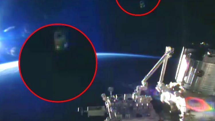Uluslararası Uzay İstasyonu tarafından çekilen UFO Filosu