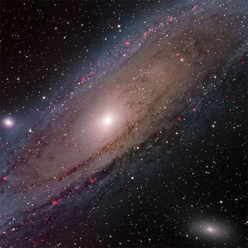 Andromeda'nın 1.5 Milyar Piksellik Görüntüsü
