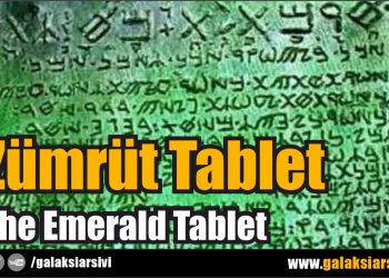 Zümrüt Tablet – The Emerald Tablet