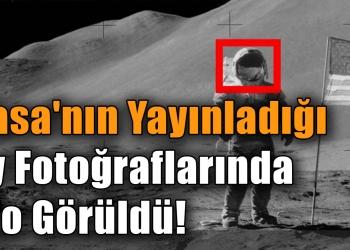Nasa'nın Yayınladığı Ay Fotoğraflarında Ufo Görüldü!