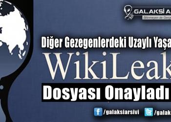 Diğer Gezegenlerdeki Uzaylı Yaşamını Wikileaks Dosyası Onayladı!
