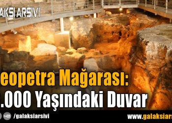 Theopetra Mağarası: 23.000 Yaşındaki Duvar