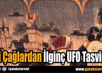 Eski Çağlardan İlginç UFO Tasvirleri