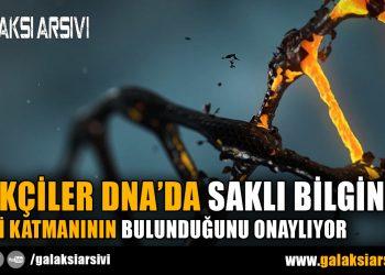 FİZİKÇİLER DNA'DA SAKLI BİLGİNİN İKİNCİ KATMANININ BULUNDUĞUNU ONAYLIYOR