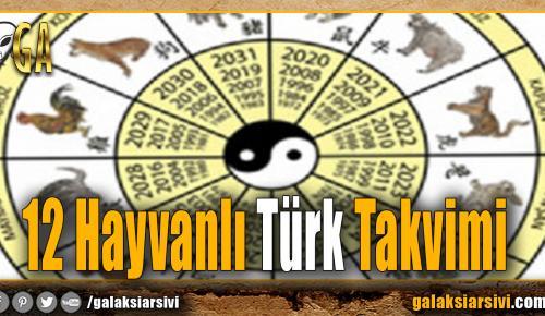 12 Hayvanlı Türk Takvimi