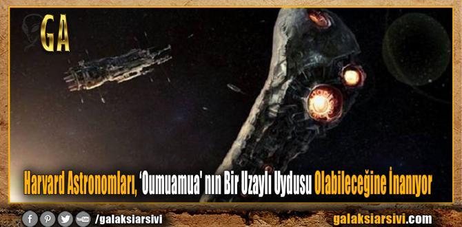 Harvard Astronomları, 'Oumuamua' nın Bir Uzaylı Uydusu Olabileceğine İnanıyor