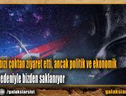 Uzaylılar bizi çoktan ziyaret etti, ancak politik ve ekonomik çıkarlar nedeniyle bizden saklanıyor