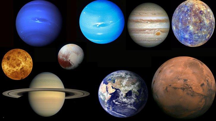 Gezegen İsimlerinin Anlamlarını Biliyor Musunuz?