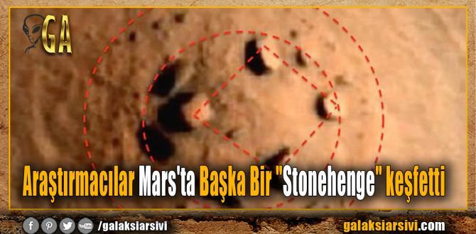 """Araştırmacılar Mars'ta Başka Bir """"Stonehenge"""" keşfetti"""