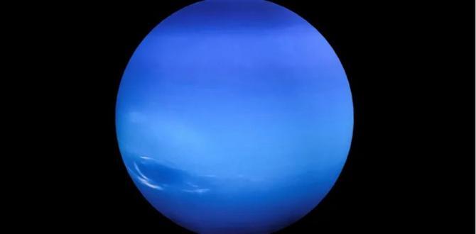 Neptün'ün 30 Yıl Önce Çekilen İlk Fotoğrafı